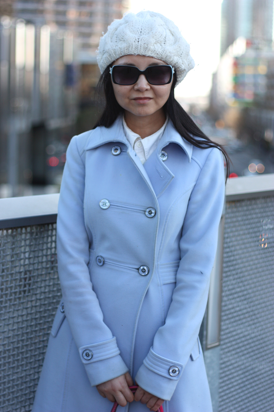 """Vic: Lili, IT Developer,  Southern Cross, Melbourne. """"I'd describe my style as classic."""" <a href=""""http://www.marythamphotography.weebly.com/"""" target=""""_blank""""> Photo: Mary Tham </a>"""