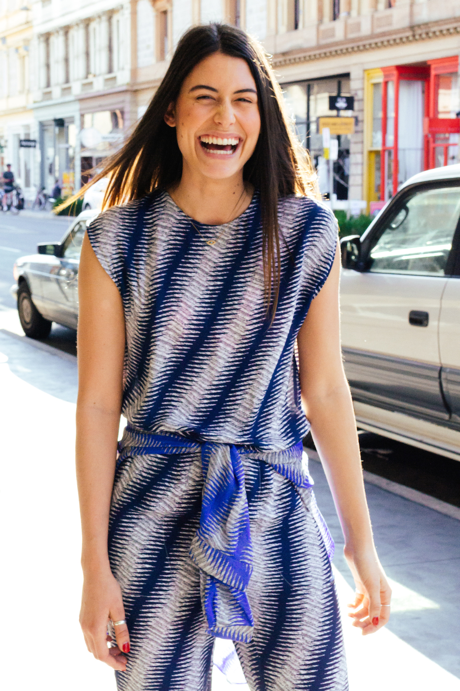 """SA: Charlotte Kleut, Sales Assistant, Rundle St East.  """"My style is effortlessly cool."""""""