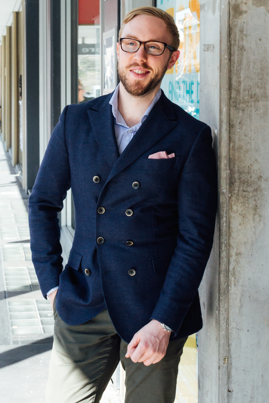SA: Julian Tully, Sales Assistant,  Rundle St East.