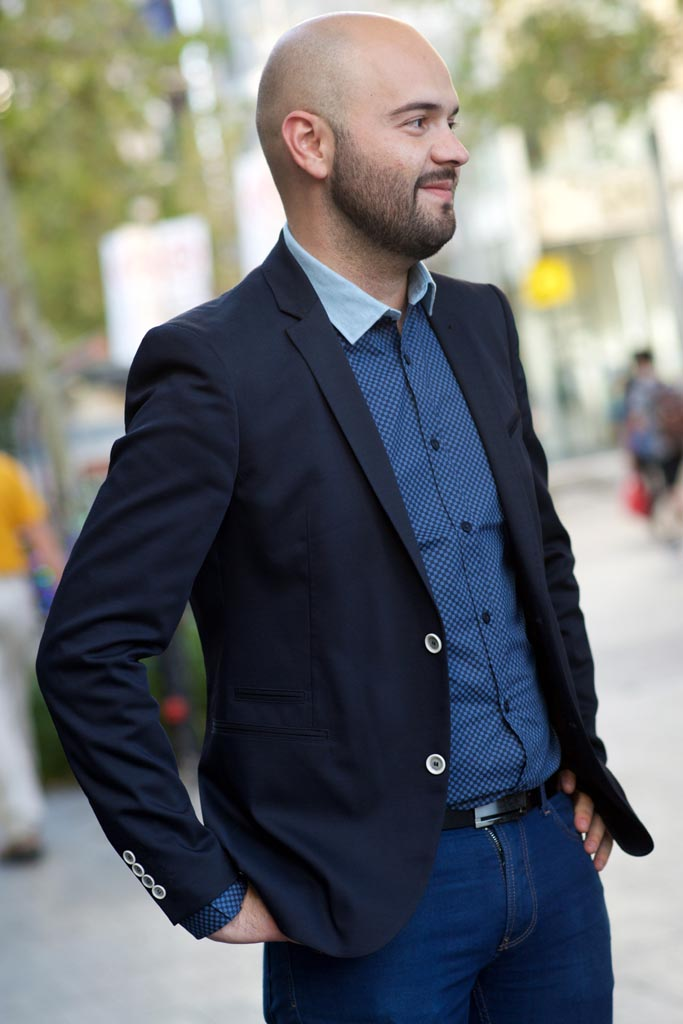 Andres, retail manager, Perth CBD. Photographed by Alan Wu.
