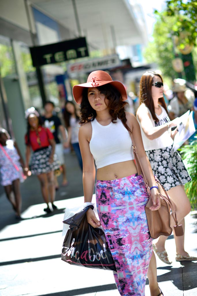 Luisa, student, Murray Street, Perth