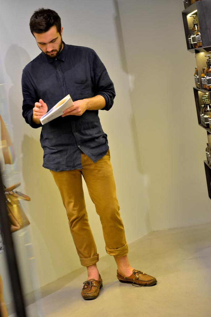 Jack Doeper, retail assistant, Perth. Photographed by Alan Wu.